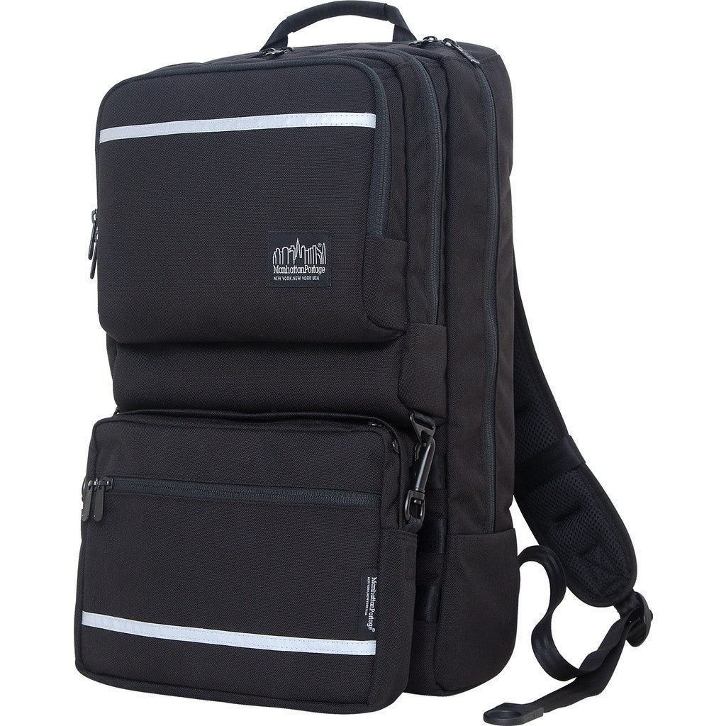 Manhattan Portage Metro Tech Backpack | Black 1240-BL BLK / Grey 1240-BL GRY / Navy 1240-BL NVY