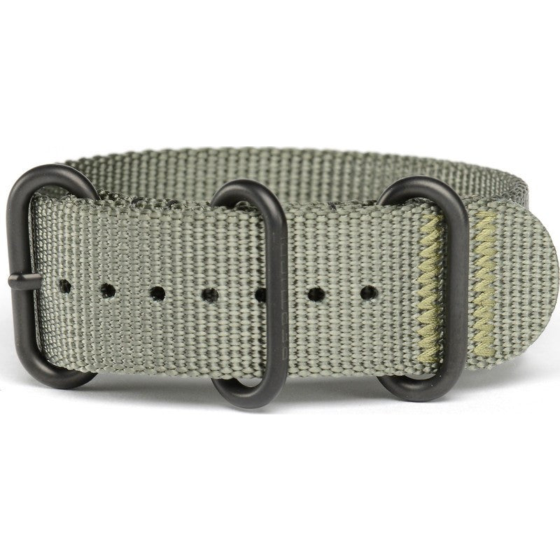 Bertucci DX3 Nylon Watch Band | Defender Drab / Black Ion #125B