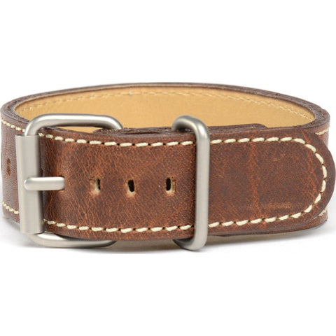 Bertucci Montanaro Survival Horween Leather Watch Band | Nut Brown #126