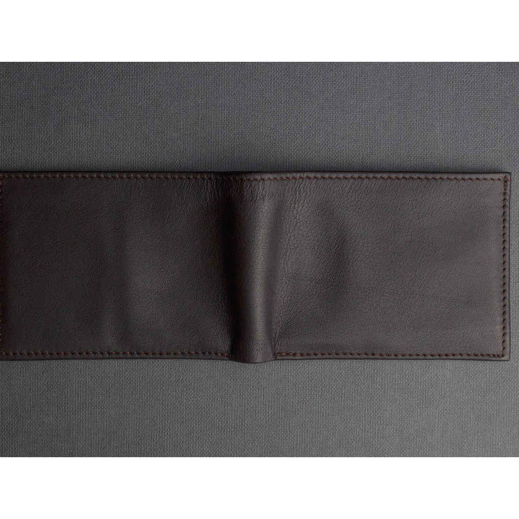 Kiko Leather Classic Bi-Fold Wallet | Brown 126brwn