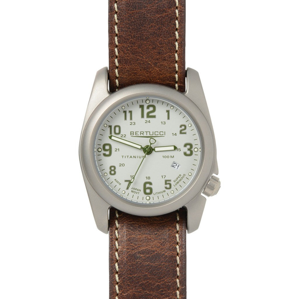 Bertucci A-2T Field Colors Watch | Caprili Stone/Forest/Nut Brown 12718