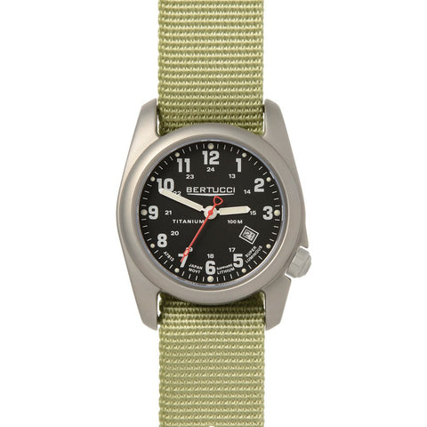 Bertucci A-2T Original Classics Watch | Black/Patrol Nylon 12725