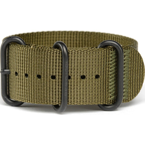 Bertucci DX3 Nylon Watch Band | Defender Olive #127B