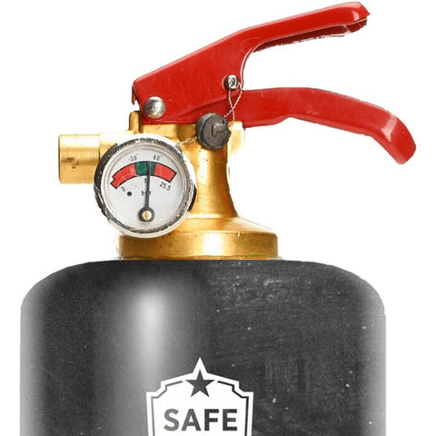 Safe-T Designer Fire Extinguisher | Love Life - Good Life