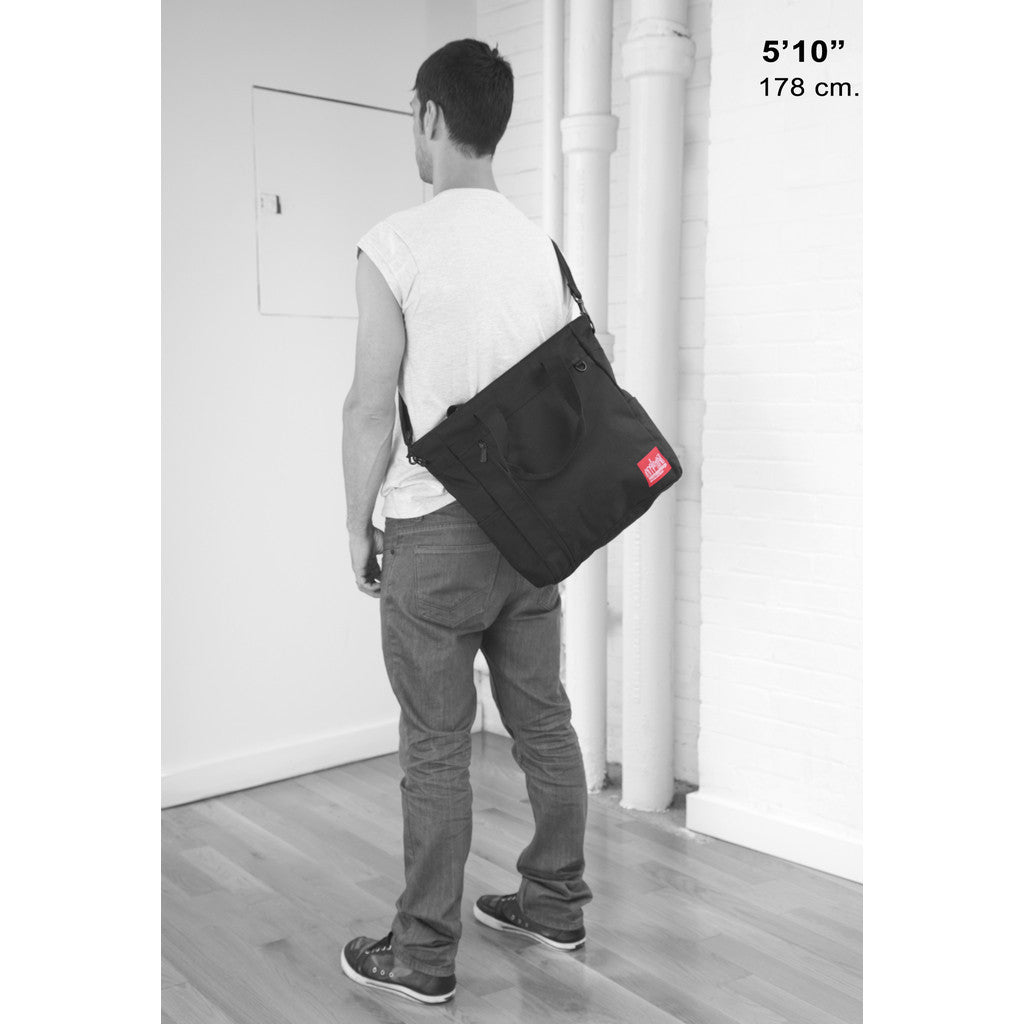 Manhattan Portage Greenwich Tote | Black 1302 BLK