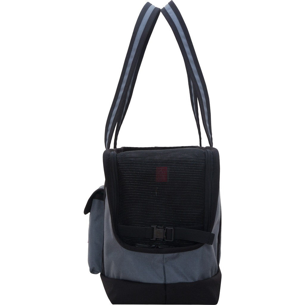 Manhattan Portage Pet Carrier Tote Bag | Grey/Black 1310-2 GRY/BLK | Grey/Red 1310-2 GRY/RED