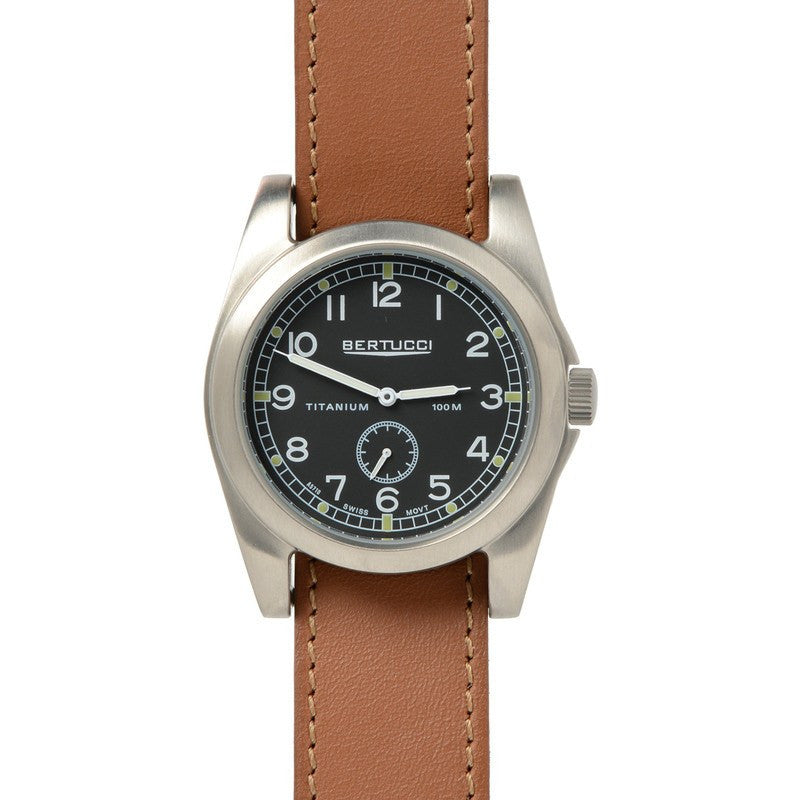 Bertucci A-3T Vintage 42 Watch | Tan