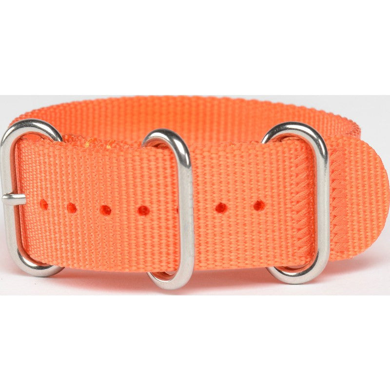 Bertucci DX3 Nylon Watch Band | Solar Orange #134