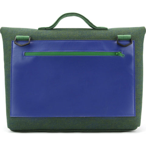 M.R.K.T. Kel Briefcase | Midnight Green/Navy Blue 134041D