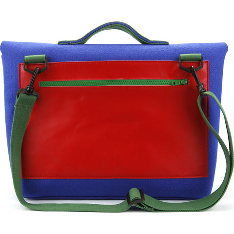 M.R.K.T. Kel Briefcase | Ultramarine/Big Red 134051D