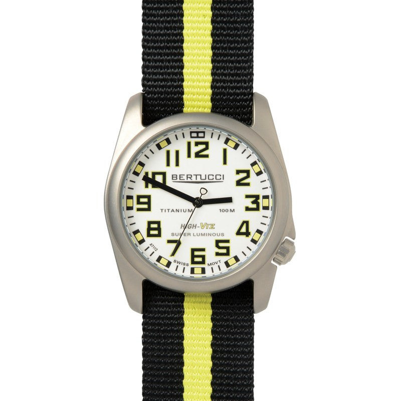 Bertucci High-Viz Watch | Black/Yellow