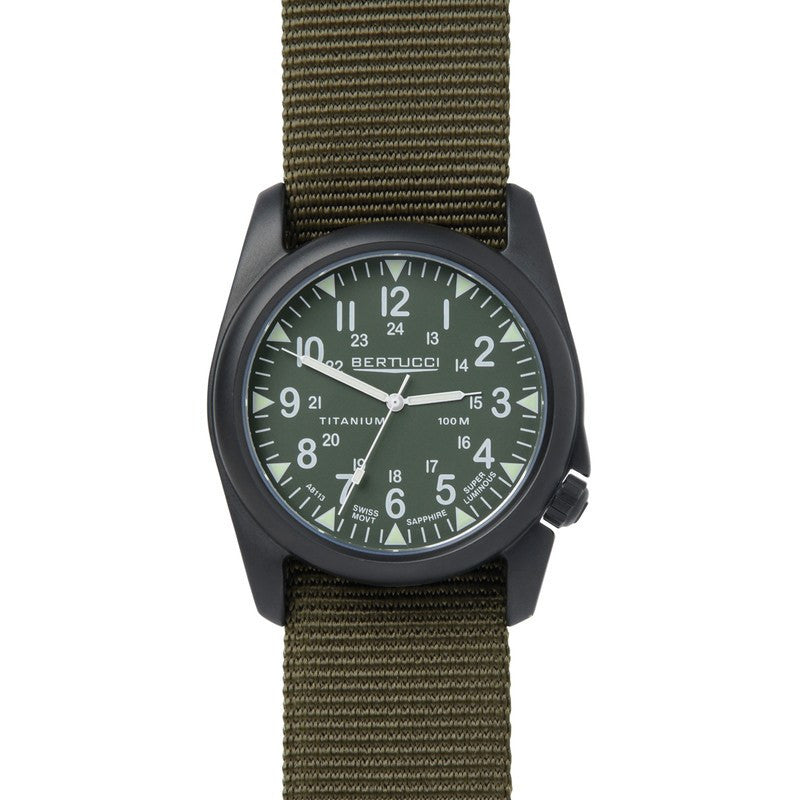 Bertucci A-4T Vintage Yankee Watch | Olive Drab/Olive