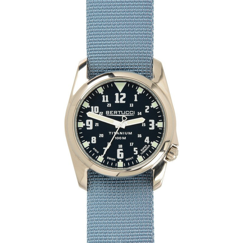 Bertucci A-4T Nautical Watch | Deep Sea Blue/Sea Dog Gray
