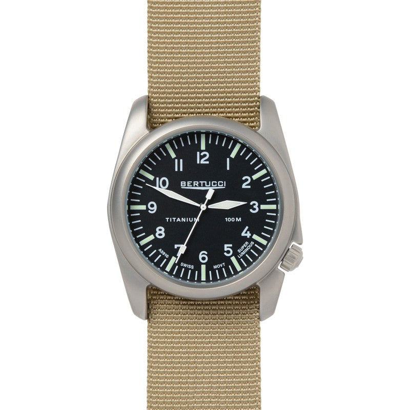 Bertucci A-4T Aero Watch | Black/Defender Khaki