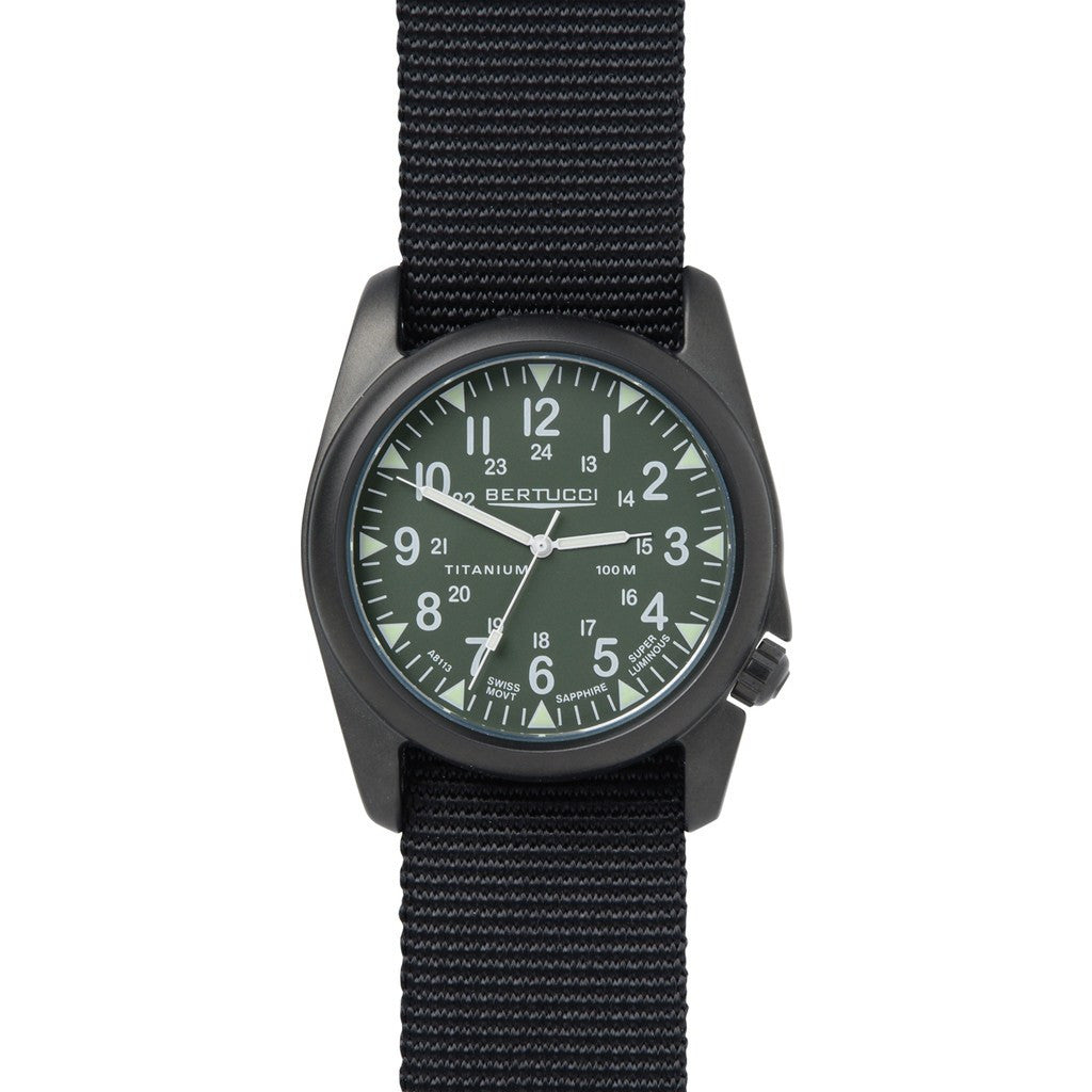 Bertucci A-4T Yankee Watch | Olive Drab/Black 13452