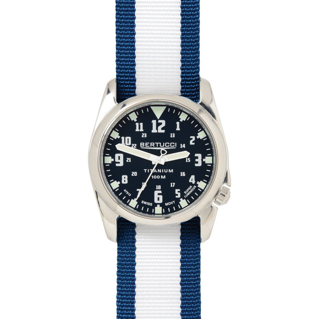 Bertucci A-4T Nautical Watch | Deep Sea Blue/White/Mariner Blue 13453