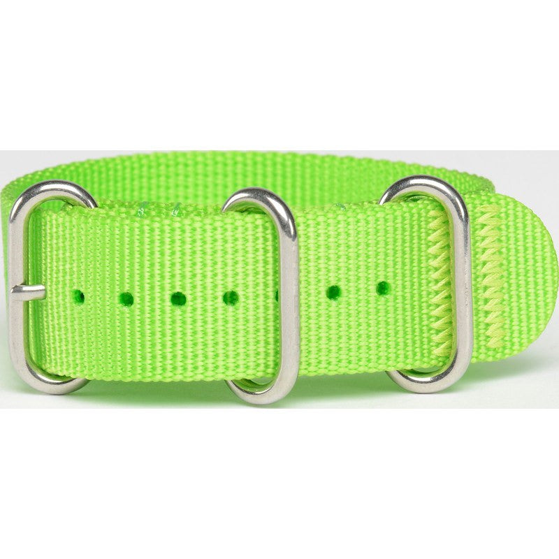 Bertucci DX3 Nylon Watch Band | Laser Green #135