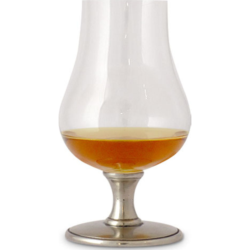 Match Bourbon Glass | Pewter