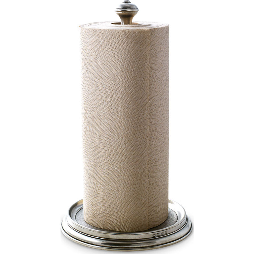Match Paper Towel Holder | Pewter