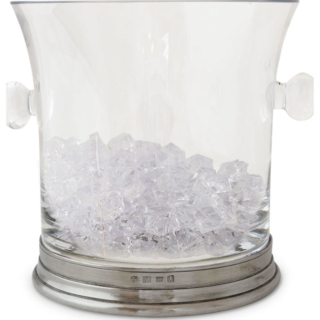 Match Crystal Ice Bucket | Pewter