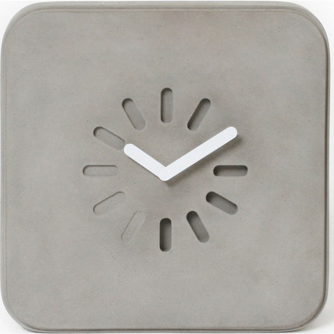 Lyon Beton Life in Progress Clock | Light Grey  DB-09200