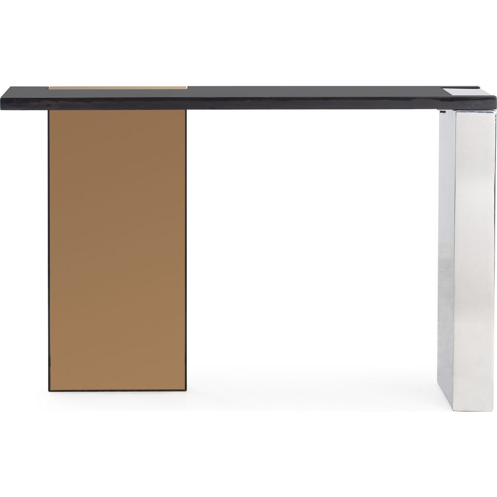 Resource Decor Reed Console Table | Rose Gold
