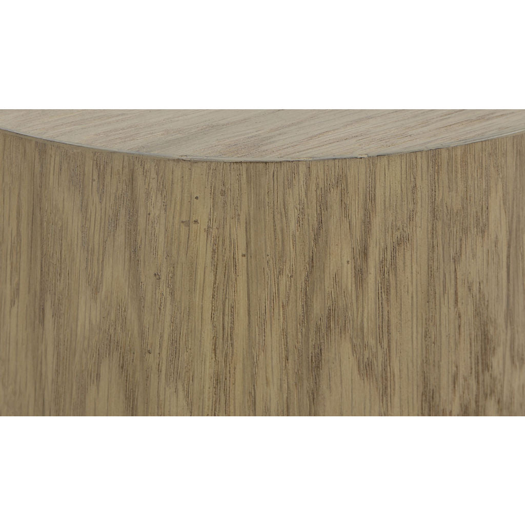 Resource Decor Morgan Round Accent Table | Oak