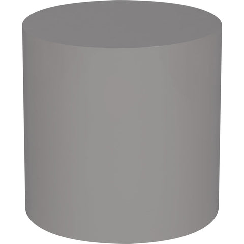 Resource Decor Morgan Round Accent Table | Gray