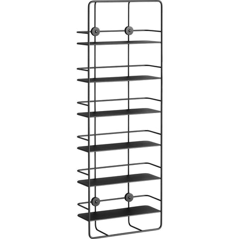 Woud Coup_ Vertical Shelf | Black 140130