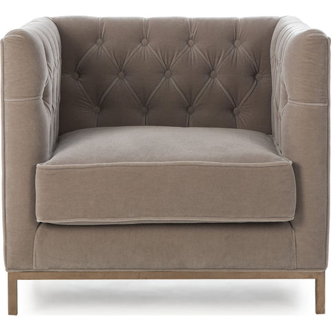 Resource Decor Vinci Tufted Occasional Chair | Mohair