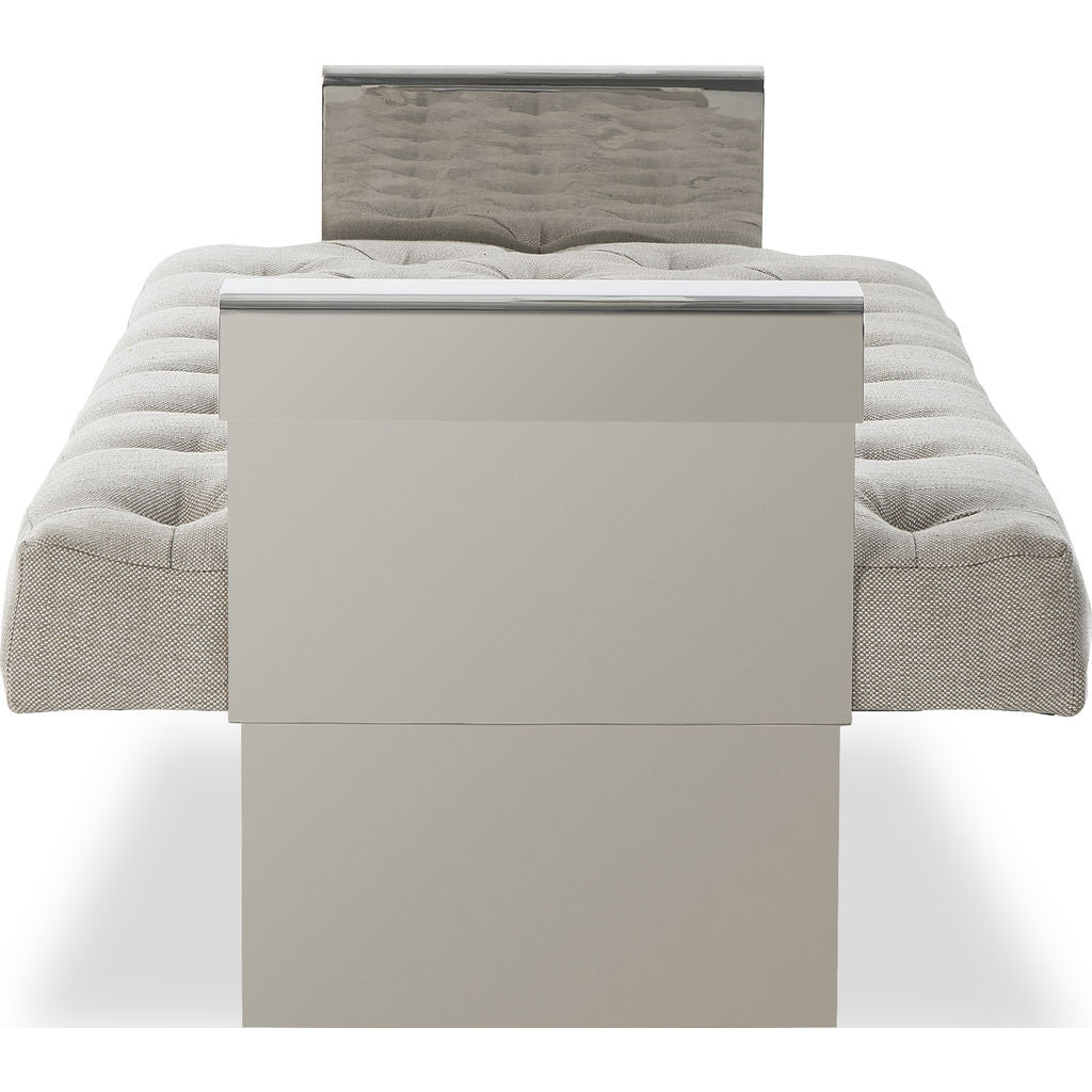 Resource Decor Vinci Bench | Beige Linen