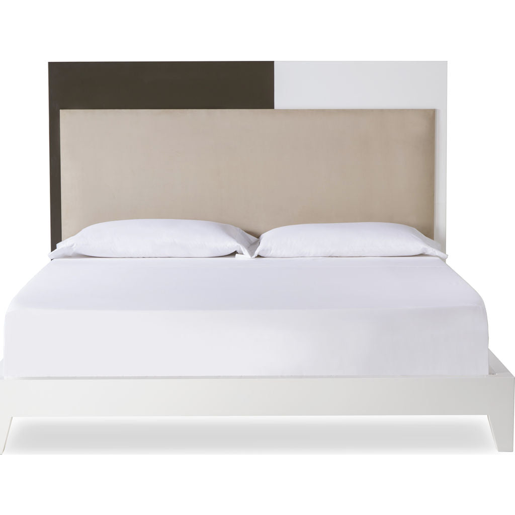 Resource Decor Mondrian Queen Sized Bed | Khanki/Snow White