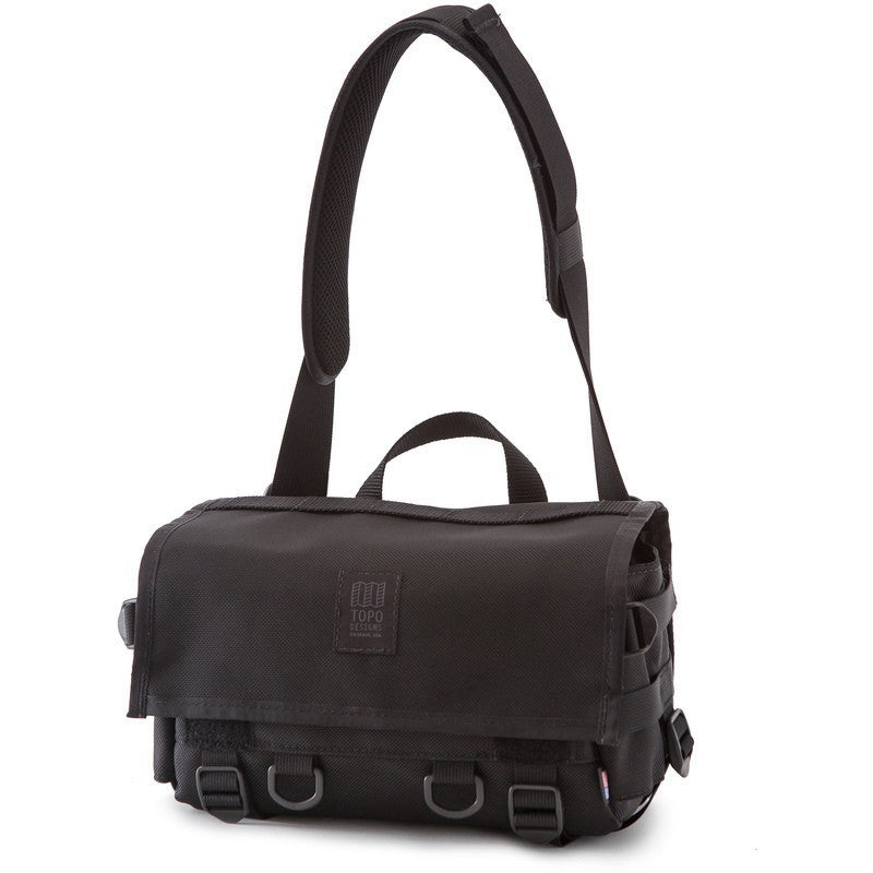 Topo Designs Field Bag | Ballistic Black