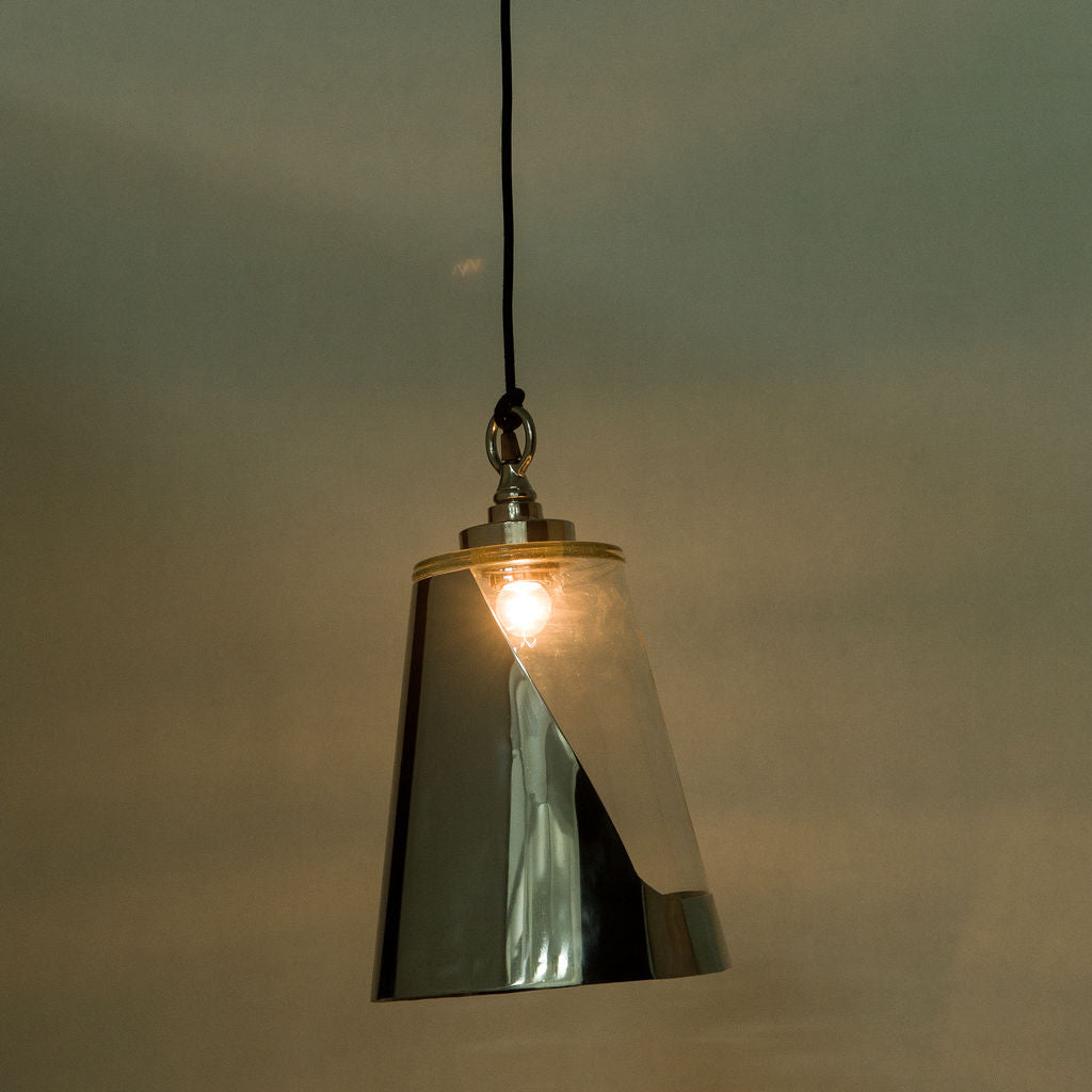 Resource Decor Bessie Pendant Lamp | Stainless Steel