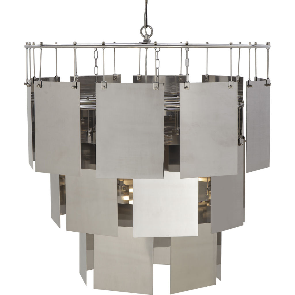 Resource Decor Marilyn Chandelier | Large/Stainless