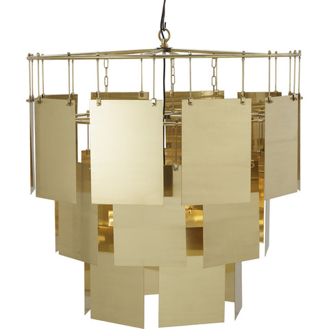 Resource Decor Marilyn Large Chandelier | Brass