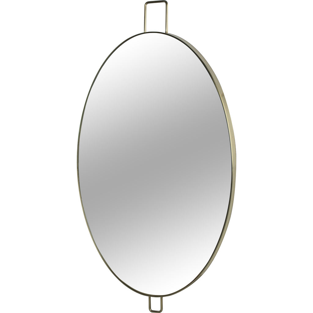 Resource Decor Fox Wall Mirror | Stainless Steel