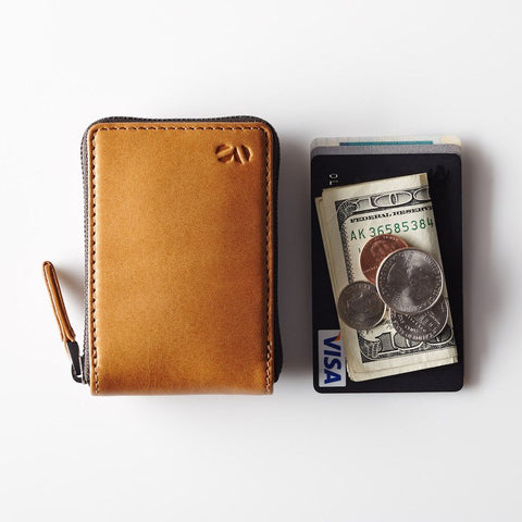Octovo Birdcage Leather Wallet | Buff W01-001-BUF