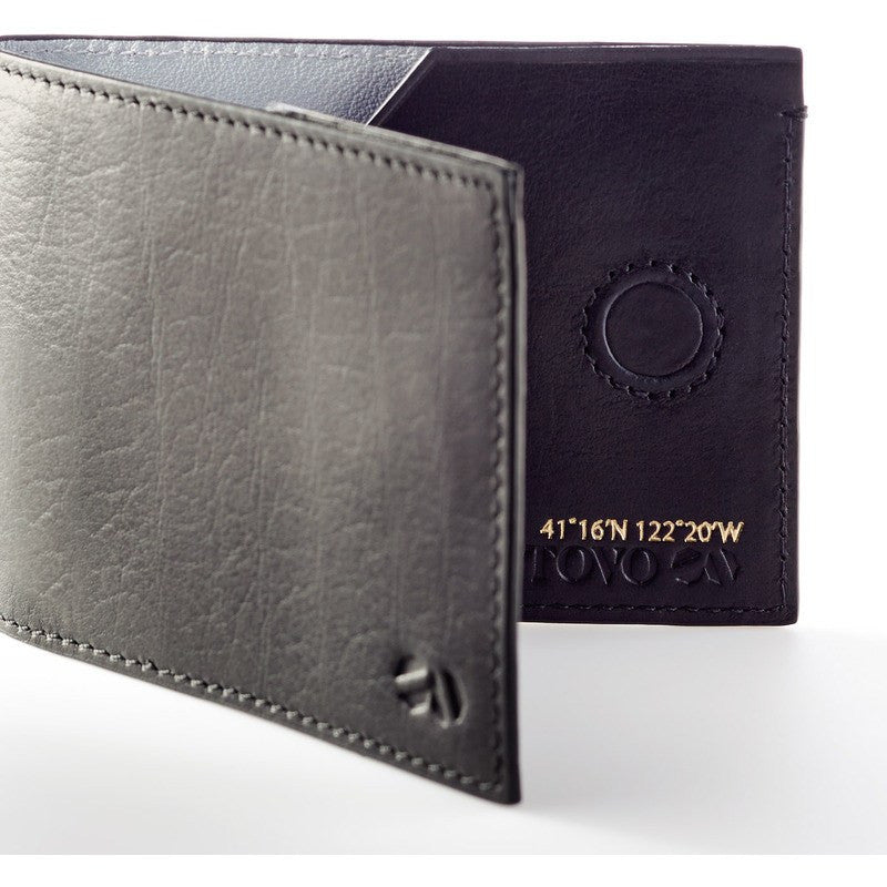 Octovo Panorama Leather Wallet | Black W01-006-BLK