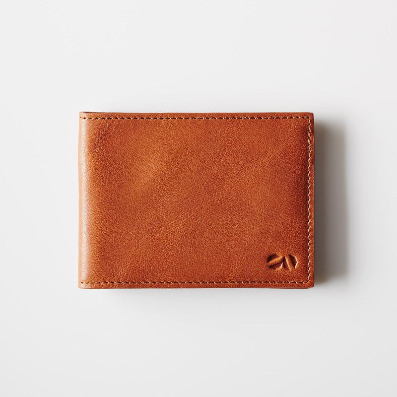 Octovo Panorama Leather Wallet | Chestnut W01-006-CHU