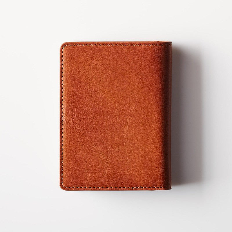 Octovo Postman Leather Wallet w/ Pad & Pen | Chestnut W01-007-CHU