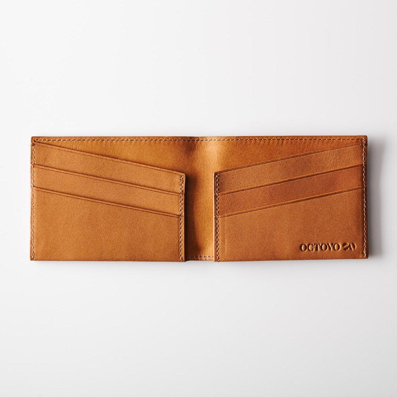 Octovo Purist Leather Wallet | Buff W01-003-BUF