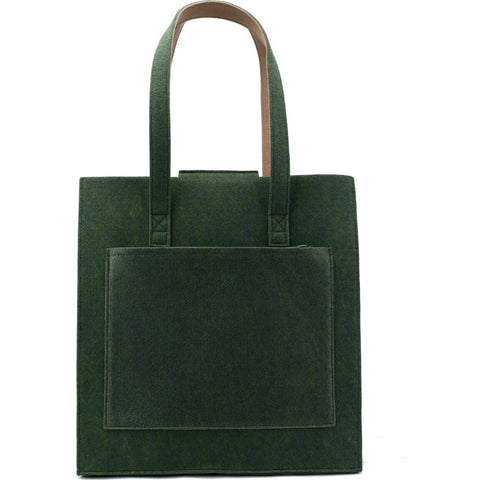 M.R.K.T. Parker Tote Bag | Midnight Green/Teak 142040D