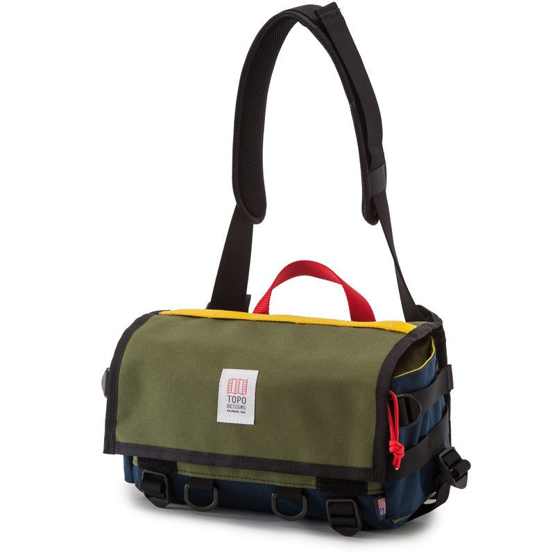 Topo Designs Field Bag | Olive/Navy