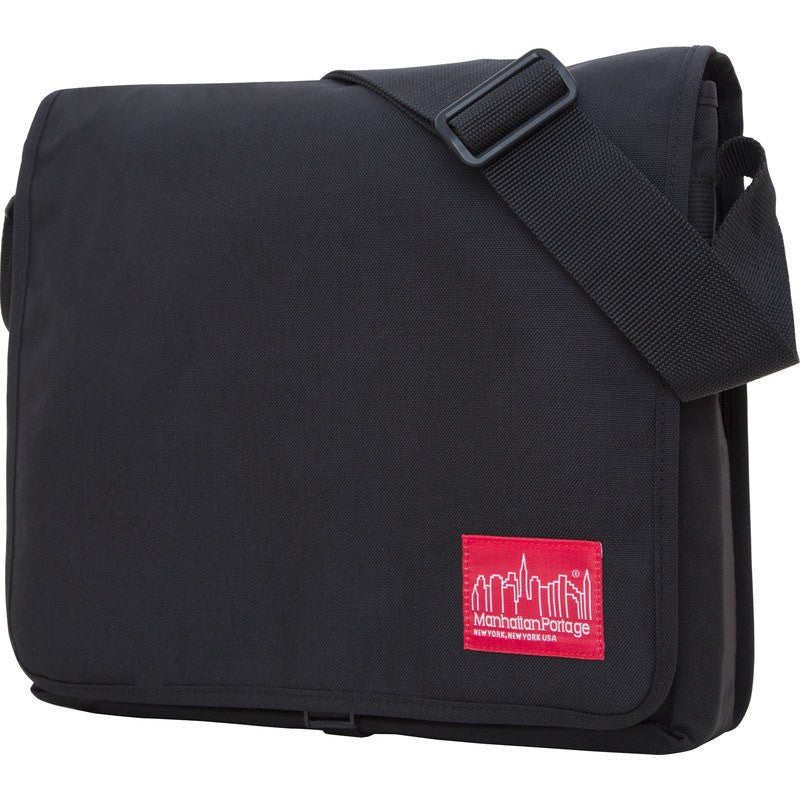 Manhattan Portage Medium DJ Messenger Bag | Black 1428 BLK