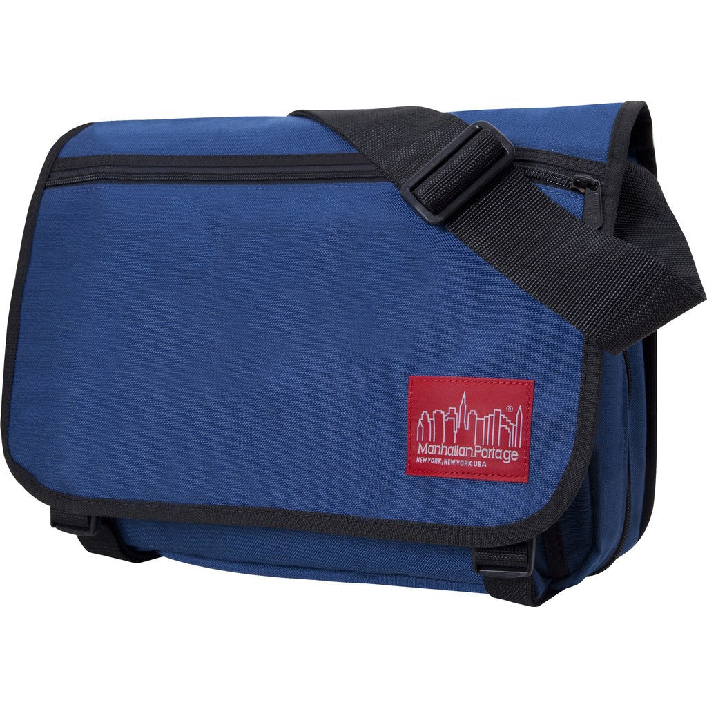 Manhattan Portage Medium Europa Messenger Bag with Zipper/Compartments | 1439Z-C BLK/GRY/CAM/GRN/MUS/NVY/OLV/ORG