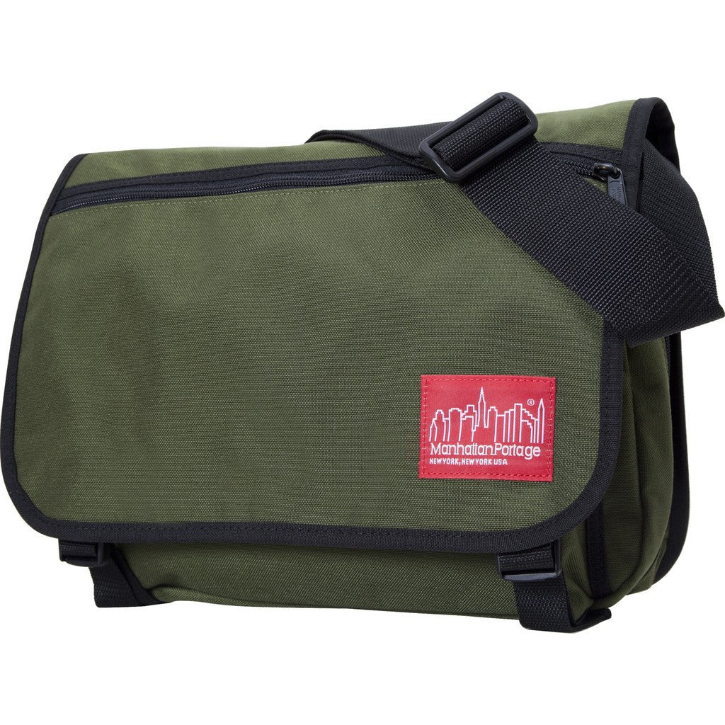 Manhattan Portage Medium Europa Messenger Bag | Green 1439Z GRN / Mustard 1439Z MUS / Olive 1439Z OLV