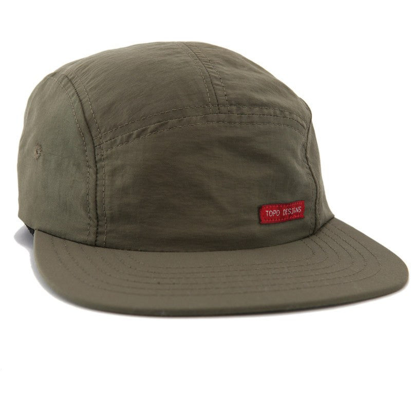 Topo Designs Nylon Camp Hat | Olive