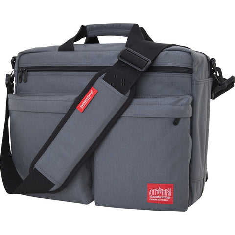 Manhattan Portage Convertible Briefcase | Black/Zipper 1446Z BLK | Grey/Zipper 1446Z GRY