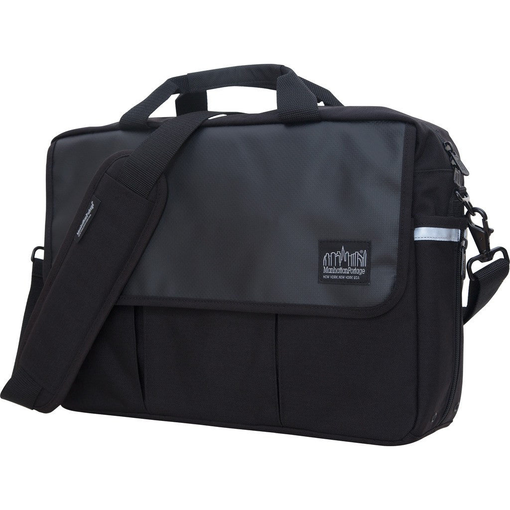 Manhattan Portage Webb Convertible Briefcase | Black 1448-BL BLK / Grey 1448-BL GRY / Navy 1448-BL NVY / Red 1448-BL RED